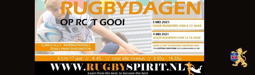 Rugbydagen op RC 't Gooi